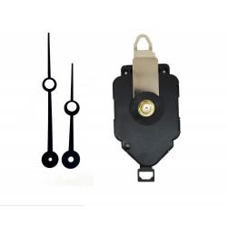 Mécanisme d'horloge à balancier + aiguilles trou 8,8/11,5cm DIY