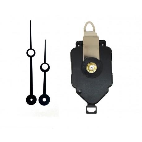 Mécanisme à balancier + aiguilles trou 8,8/11,5cm