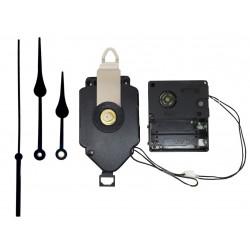 Mécanisme à balancier + sonnerie + aiguilles poire 8/11cm