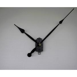horloge géante mécanisme d'horloge à balancier grandes aiguilles poire géantes 25/38cm DIY pendule murale