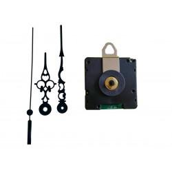 Mécanisme d'horloge radiopiloté + aiguilles style 6.8/9.8cm