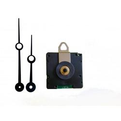 Mécanisme d'horloge radiopiloté + aiguilles trou 8.8/11.5cm