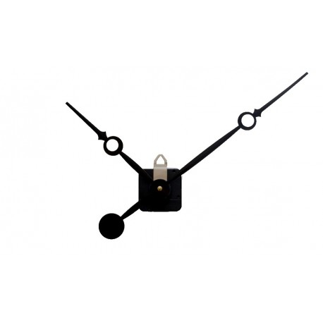 Mécanisme d'horloge AU CHOIX + grandes aiguilles trou 16/23cm DIY