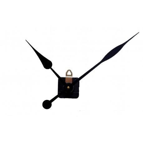 Mécanisme d'horloge AU CHOIX + aiguilles poire 17/23cm DIY