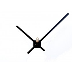Mécanisme d'horloge + grandes aiguilles extra-longues 20/30cm pour cadran épais DIY