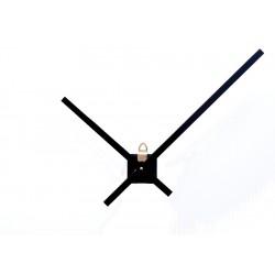 Mécanisme d'horloge + grandes aiguilles extra-longues 20/30cm pour cadran très épais DIY