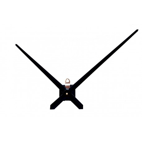 Mécanisme d'horloge AU CHOIX + aiguilles extra-longues effilées 23.8/31.4cm  DIY