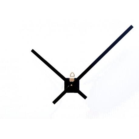 Mécanisme d'horloge AU CHOIX + Aiguilles droites extra longues de 20 et 30 cm  DIY