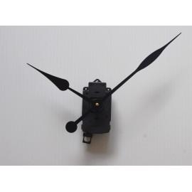 Mecanisme d'horloge à balancier + grandes aiguilles longues poires 17/23cm pour cadran épais DIY