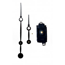 Mécanisme d'horloge à balancier AU CHOIX + grandes aiguilles trou 16/23cm DIY