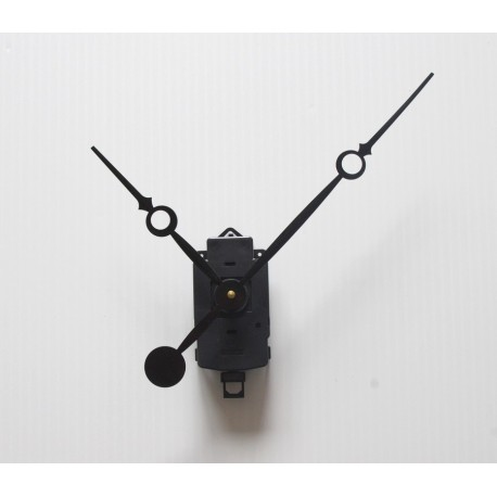 Mecanisme à balancier + aiguilles longues trou 17/23cm