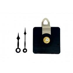 Mécanisme d'horloge AU CHOIX + aiguilles POINTES très courtes 3.9/4.9cm