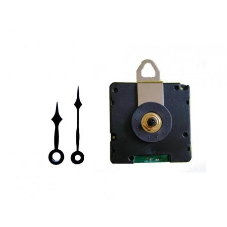Mécanisme d'horloge radiopiloté + aiguilles pointes très courtes pour cadran jusqu'à 6mm d'épaisseur