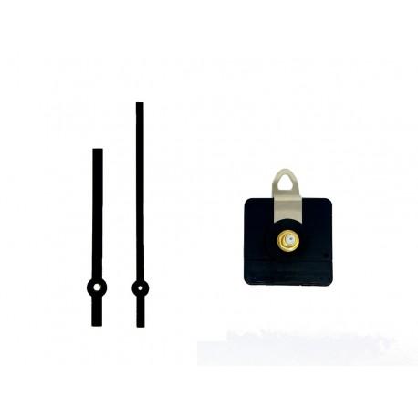 Mécanisme d'horloge AU CHOIX + aiguilles droites 9 et 12cm