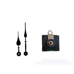 Mécanisme d'horloge radiopiloté + aiguilles poire 9.3 et 12.6cm