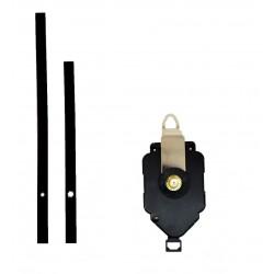Mécanisme d'horloge à balancier + aiguilles droites longues 13 et 18cm DIY