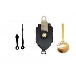 Mécanisme d'horloge à balancier + aiguilles pointes courtes 6.9 et 9.2cmDIY