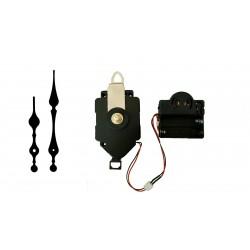Mécanisme d'horloge à balancier + sonnerie + aiguilles style 8.2 et 11.7cm DIY