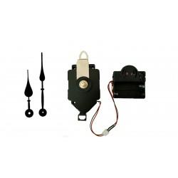 Mécanisme d'horloge à balancier + sonnerie + aiguilles poire 9.3 et 12.6cm DIY