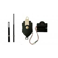 Mécanisme d'horloge à balancier + sonnerie + aiguilles droites ajourées 8 et 12.7cm DIY