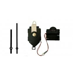 Mécanisme d'horloge à balancier + sonnerie + aiguilles droites 9 et 12cm DIY