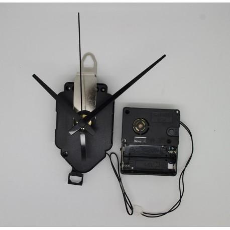 Mécanisme à balancier + sonnerie + aiguilles droites courtes 6.2/9.5cm