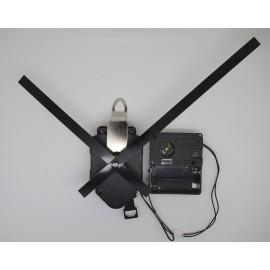 Mécanisme d'horloge à balancier + sonnerie + aiguilles droites longues13/18cm DIY