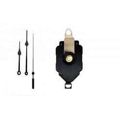 Mécanisme d'horloge à balancier + aiguilles poire 8.5/11.5cm DIY