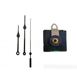 Mécanisme d'horloge radiopiloté + aiguilles poire 8.5/11.5cm