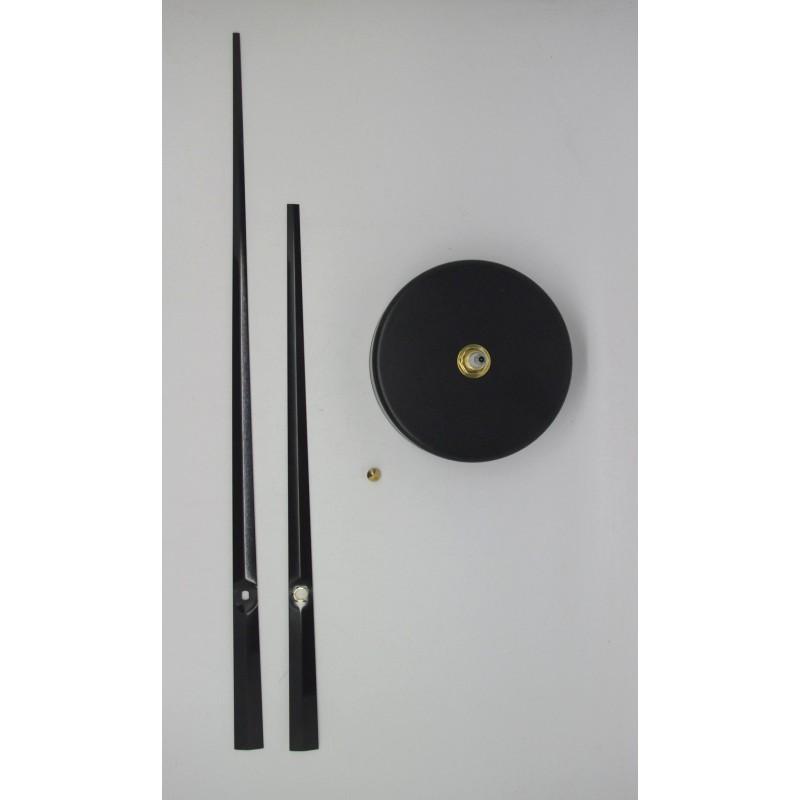 m canisme d 39 horloge grandes aiguilles droites 17 24 cm. Black Bedroom Furniture Sets. Home Design Ideas