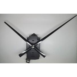Mecanisme d'horloge à balancier + grandes aiguilles longues droites17/24cm pour cadran épais DIY