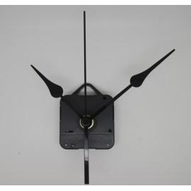 Mécanisme d'horloge + aiguilles poire 8/11cm pour cadran fin