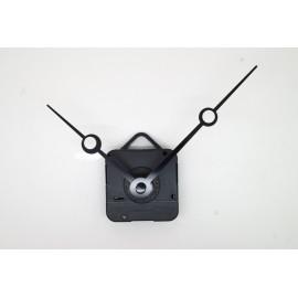 Mécanisme d'horloge + aiguilles trou 8,8/11,5cm DIY pour cadran fin