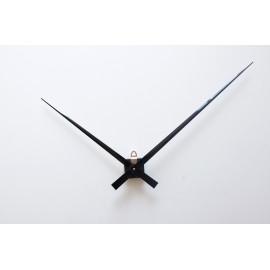 horloge murale géante mécanisme d'horloge géante grandes aiguilles géantes 33/45cm pour cadran épais DIY pendule