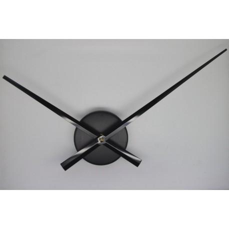 Mécanisme d'horloge + grandes aiguilles droites16/20 cm DIY