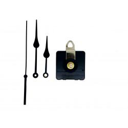 Mécanisme d'horloge silencieux + aiguilles poire 8/11cm pour cadran jusqu'à 10mm d'épaisseur