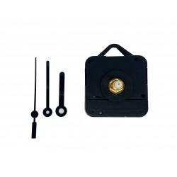 Mécanisme d'horloge silencieux + aiguilles droites très courtes 3.8/5cm pour cadran jusqu'à 10mm d'épaisseur