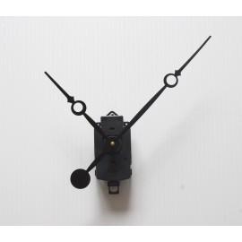 Mecanisme d'horloge SILENCIEUX à balancier + grandes aiguilles longues trou 17/23cm pour cadran épais DIY