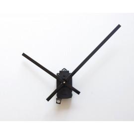 Mécanisme d'horloge SILENCIEUX à balancier + grandes aiguilles extra-longues 20/30cm pour cadran épais DIY