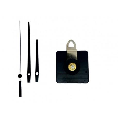 Mécanisme d'horloge AU CHOIX + aiguilles droites courtes 6,2/9,5m